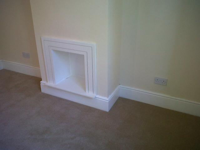 skiirting boards and fire surround